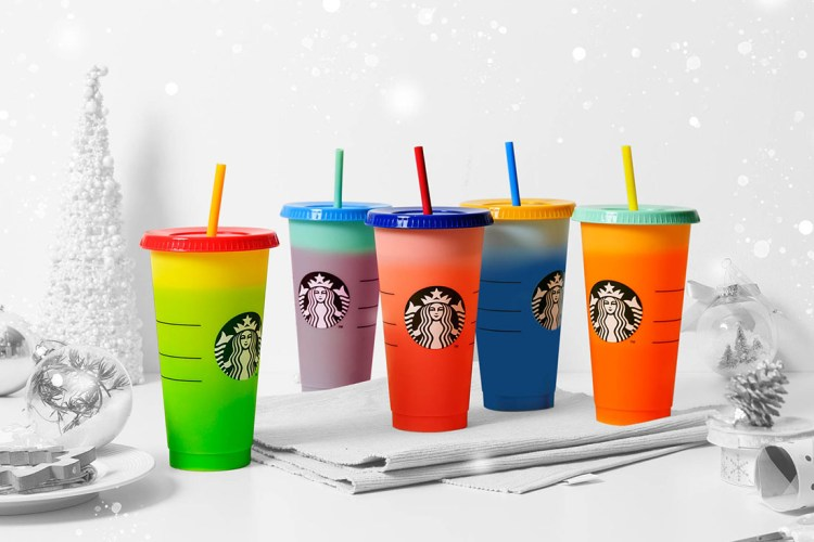Colour-changing cups from Starbucks Singapore