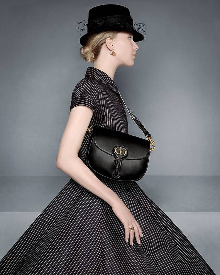 Dior brand ambassador Jennifer Lawrence for the brand's pre-fall 2020 collection