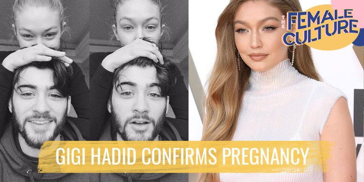 Gigi Hadid confirms pregnancy for the first time - The Female Culture