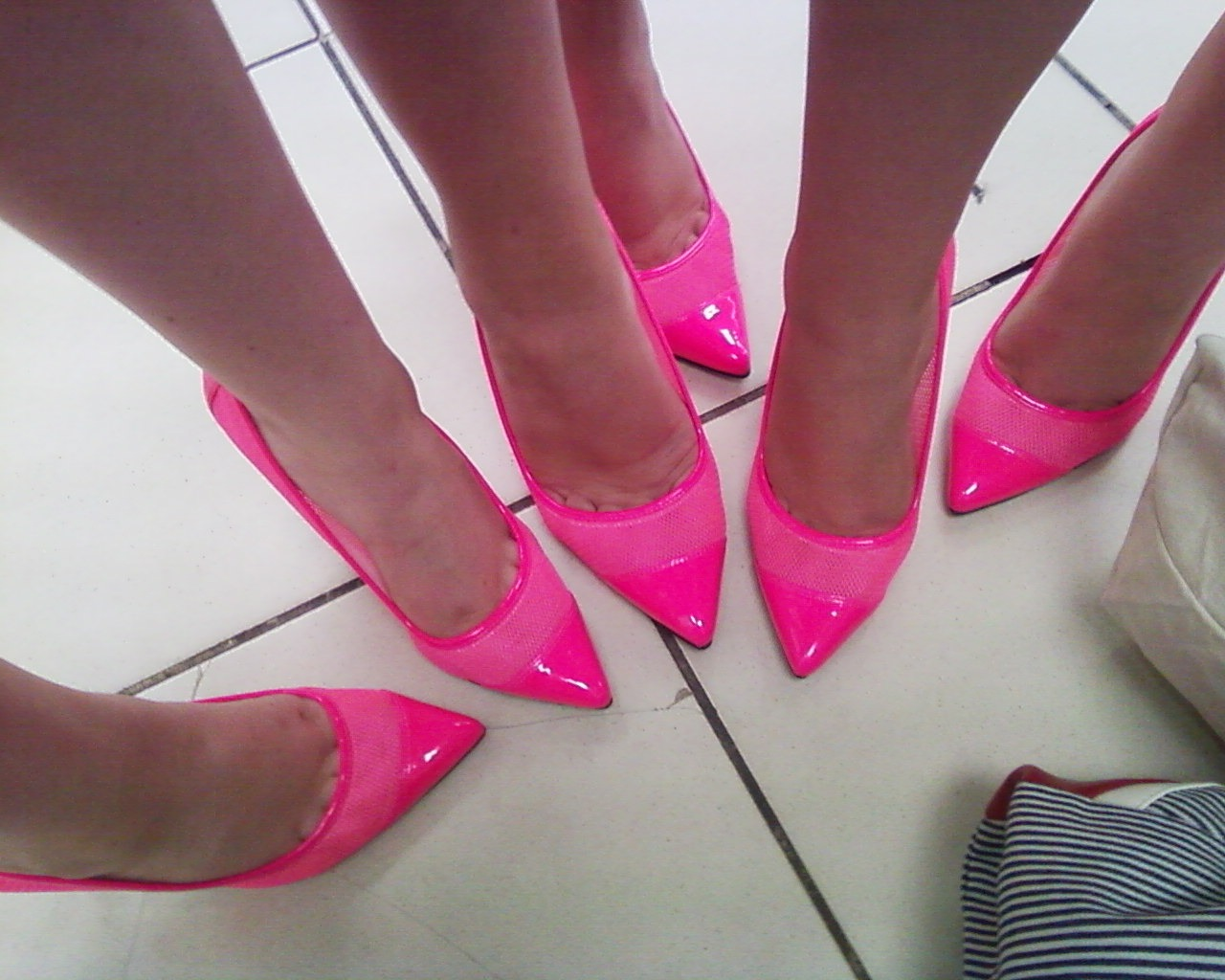 pink stilettos for carers and consumers piece