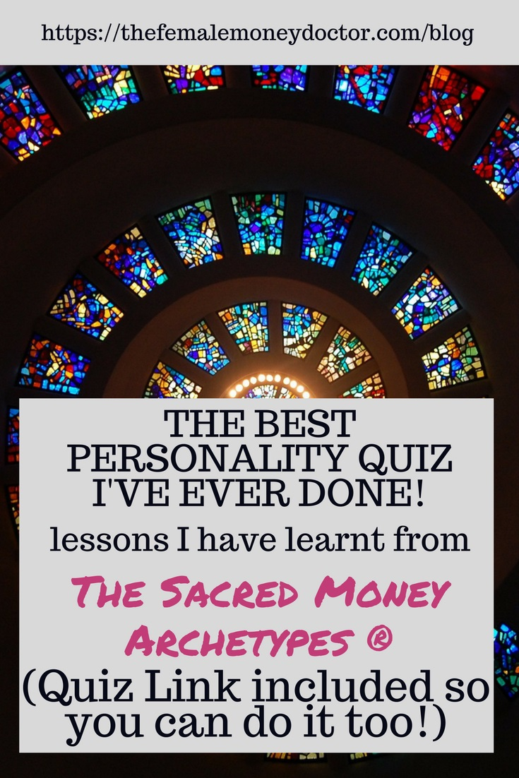 money personality quiz title picture
