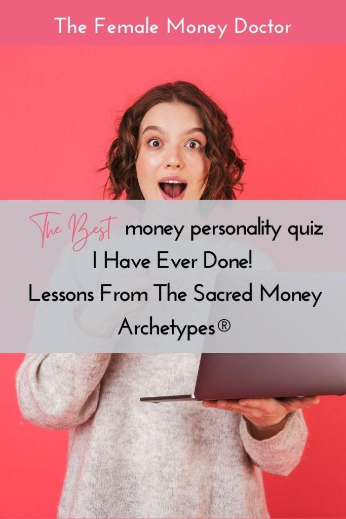 Money personalities quiz