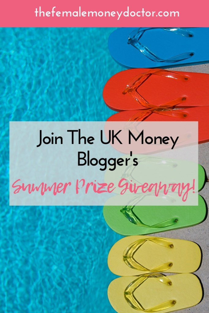 Join The UK Money Blogger's Summer Prize Giveaway!