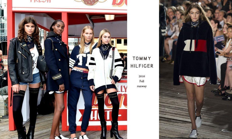 2017 春夏時裝周系列報導:Tommy Hilfiger 打造碼頭遊樂園,首發即看即買系列 - The Femin
