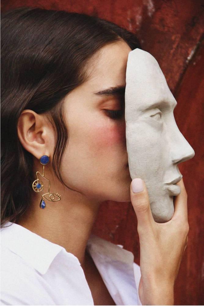童心未泯的立體派速寫:巴西飾品品牌Paola Vilas - The Femin