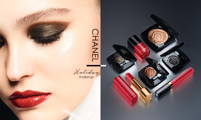 改寫品牌經典獅子圖騰:Chanel 2018聖誕彩妝系列,洋溢金屬搖滾風味 - The Femin