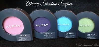 (Jan.8) Almay Shadow Softies Review & Swatches