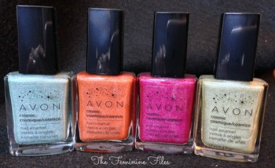 (Jan.6) Avon Cosmic Polishes Review/Swatches
