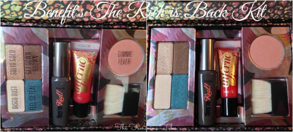 """Benefit Cosmetics """"The Rich is Back"""" Kit Review"""