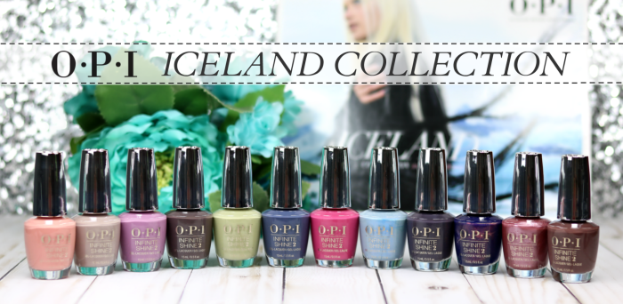 OPI Iceland Collection – Fall/Winter 2017