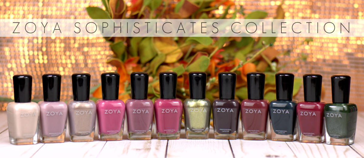 Zoya Sophisticates Collection / Fall 2017