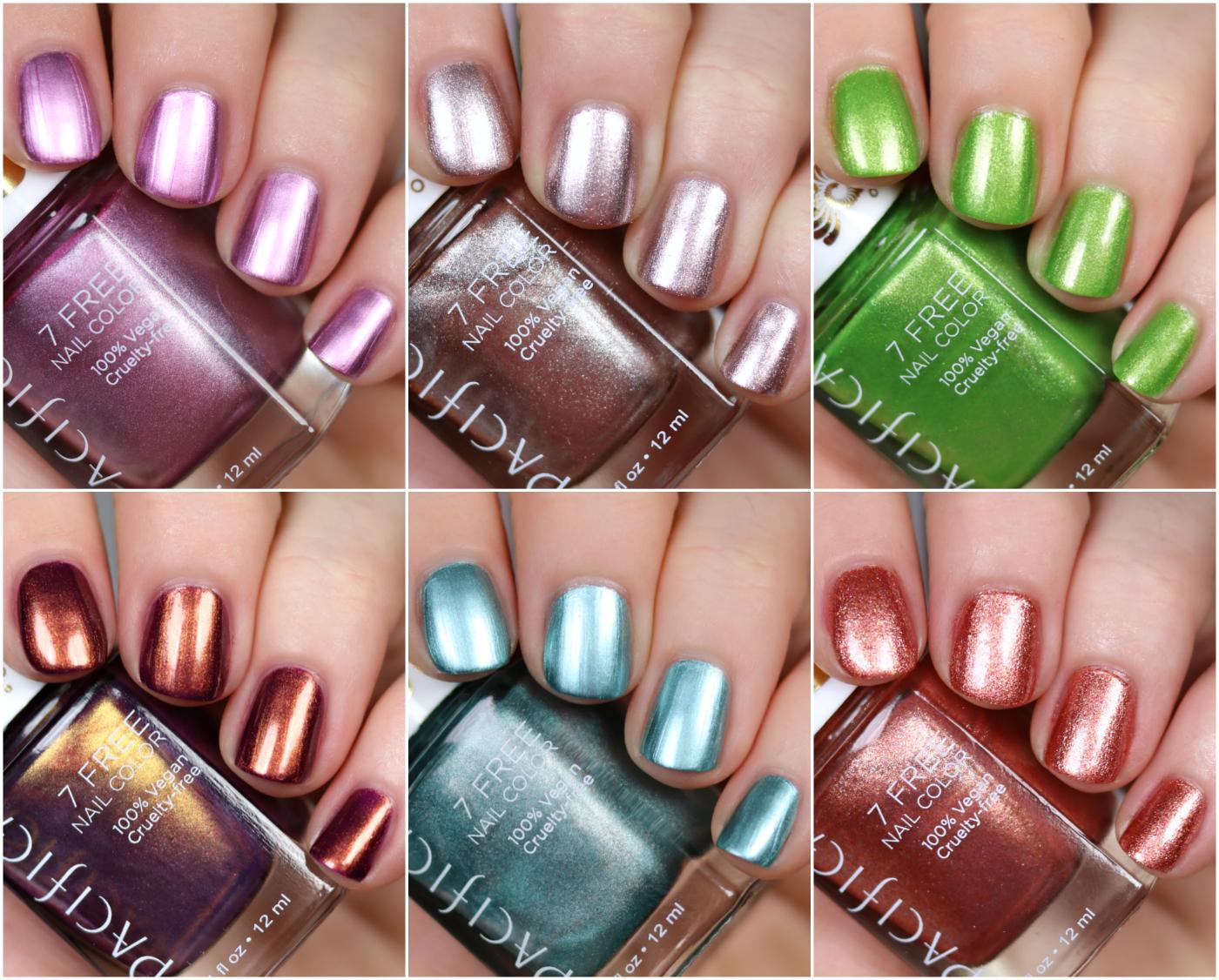 New Pacifica Metallic Nail Polish! - The Feminine Files