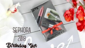Sephora Birthday Gift 2018