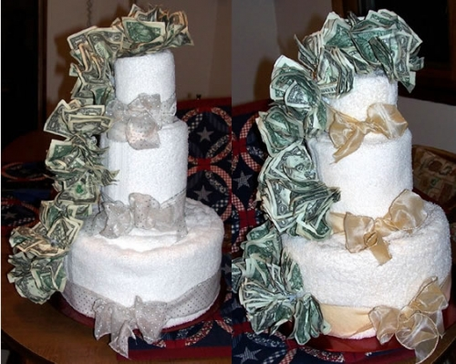 Wedding Cake Costs A Lot Of Dough TheFeministBride