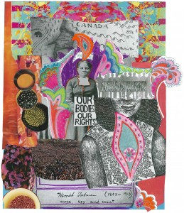 """""""Shapeshifter"""" collage Courtesy: Alexis Pauline Gumbs http://bit.ly/1nf3k9b"""