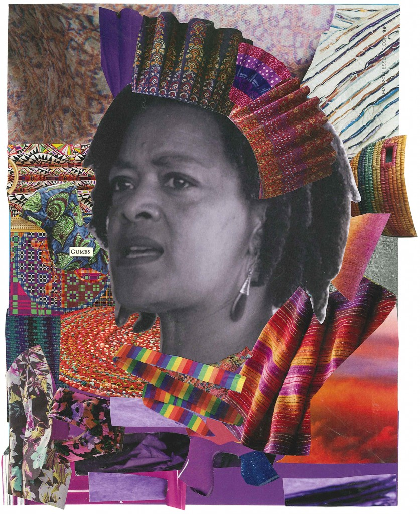 """Exhale"" collage ©Alexis Pauline Gumbs Photograph of Toni Cade Bambara ©Susan Ross"