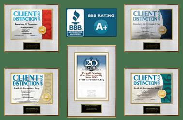 Fernandez Law Group is an award winning law firm