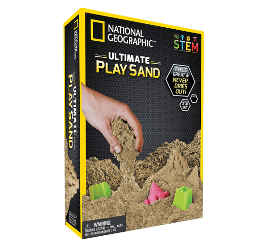 Sand for STEAM learning through play