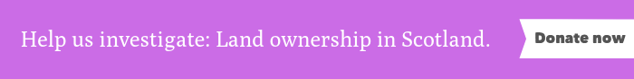 Land ownership banner