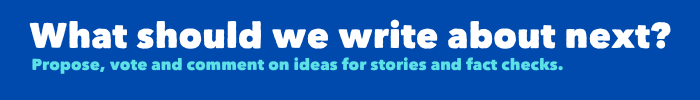 Tell us what we should write about next