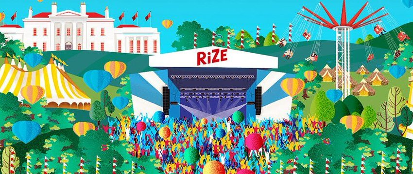 'New V Festival' for 2018 unveiled as RiZE Festival