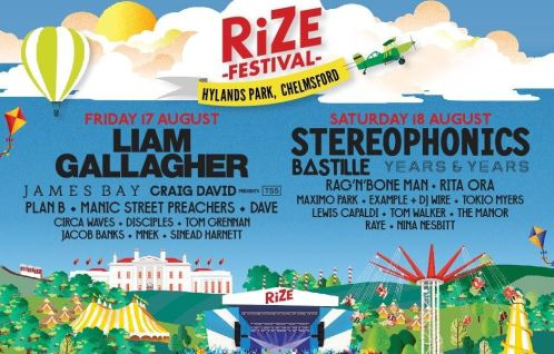 Artists you can see for free RiZE Festival volunteering
