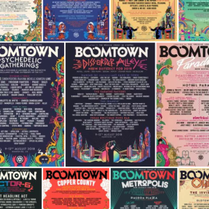 Boomtown Chapter 10: Every district line-up poster