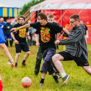 Download Festival football to return for Teenage Cancer Trust