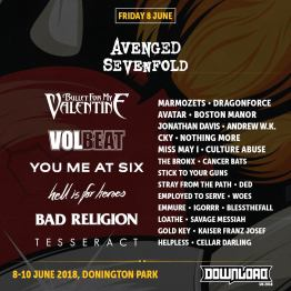Download 2018 Friday Line-Up Poster