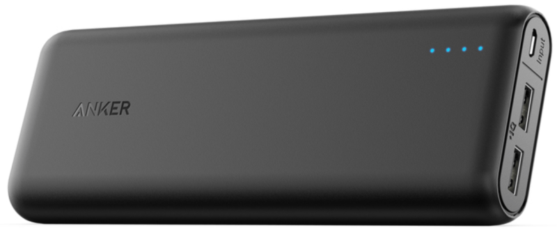 Our Best Portable Charger: Anker Powercore 20100