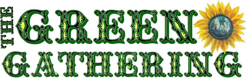 Green Gathering Glitter Ban