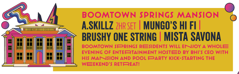 Boomtown Springs 2018 Line-up