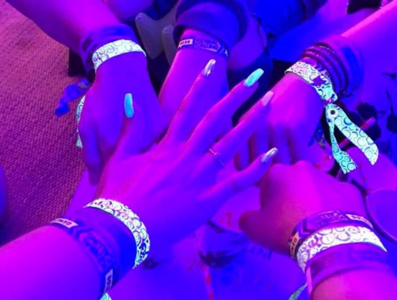 Kendal's Calling UV Wristbands