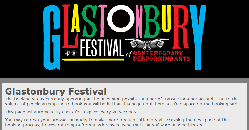First batch of Glastonbury tickets sell out in 29 minutes