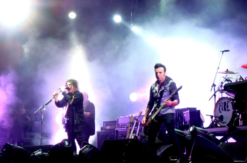 The Cure to headline 'around 20' festivals next year, including Glastonbury?