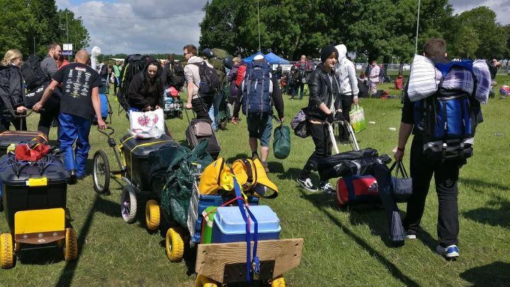 Festival Trolley Train at Download Festival
