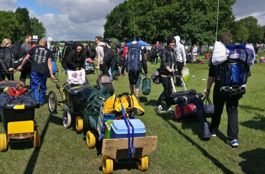 Where can you get a decent festival trolley?