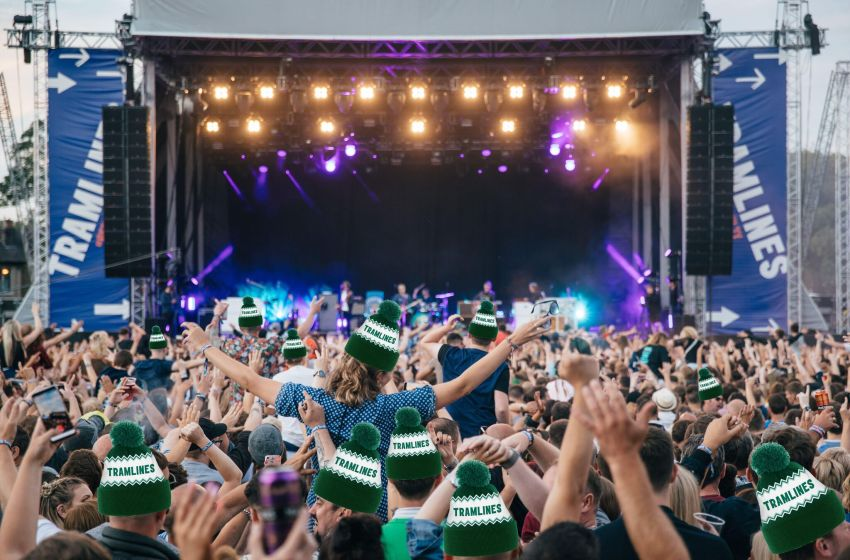 Get a free Tramlines bobble hat in their Christmas ticket offer