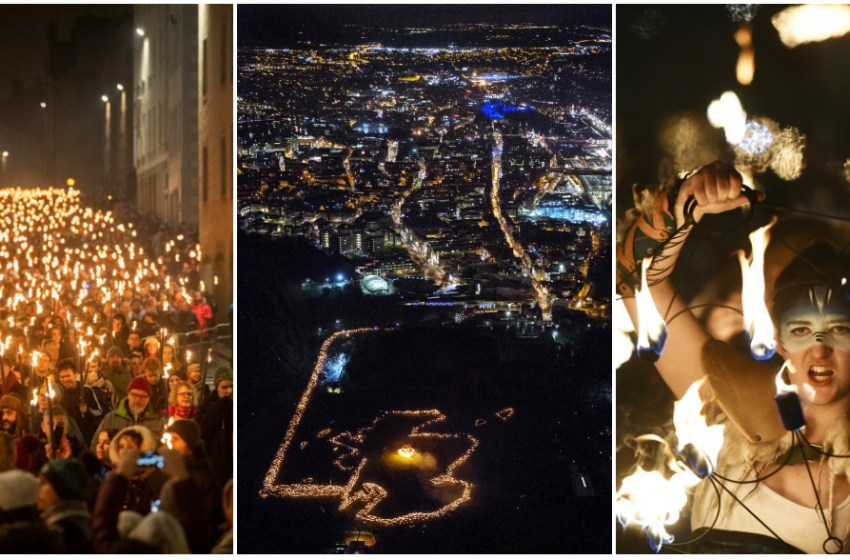 Edinburgh's Hogmanay '19: The day one review