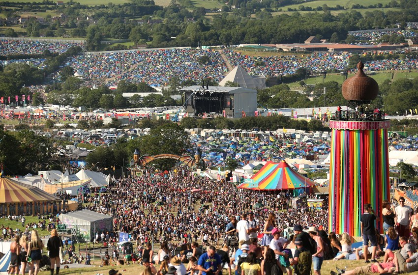 Glastonbury ban plastic bottles from being sold anywhere on site