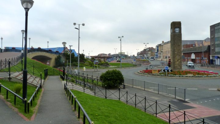 Rhyl K-Fest Seafront Clock Tower