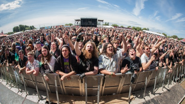 Bloodstock Main Stage Crowd
