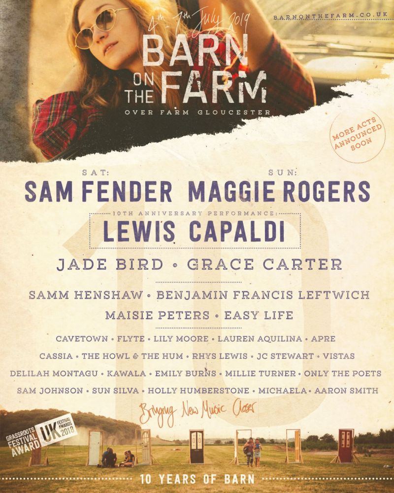 Barn on the Farm line-up poster