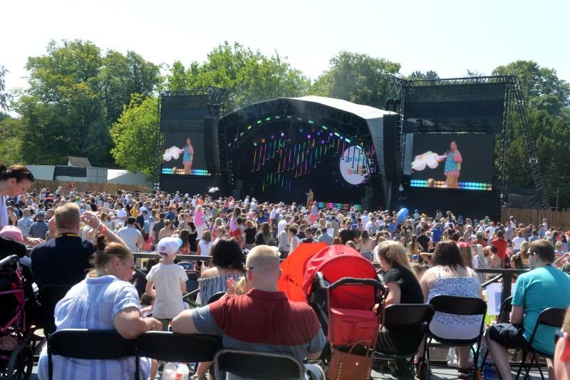 CBBC Summer Social - Crowd Shot 2
