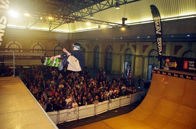 Wheels and Fins Festival to feature its first vert ramp