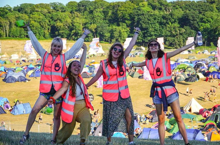 Volunteer for any charity at 13 festivals with My Cause UK