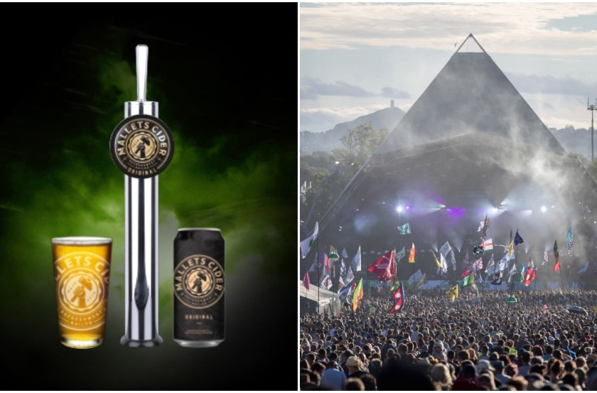 Glastonbury swap Thatchers for Mallets as main cider supplier
