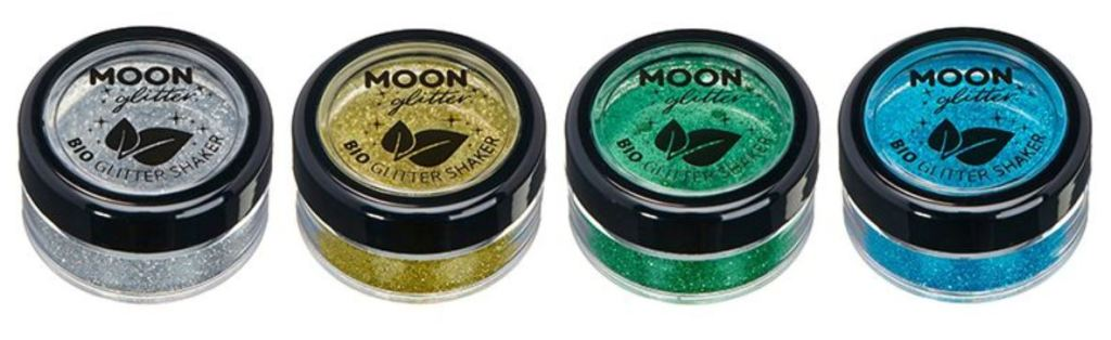 Moon Glitter Biodegradable Glitter Shakers