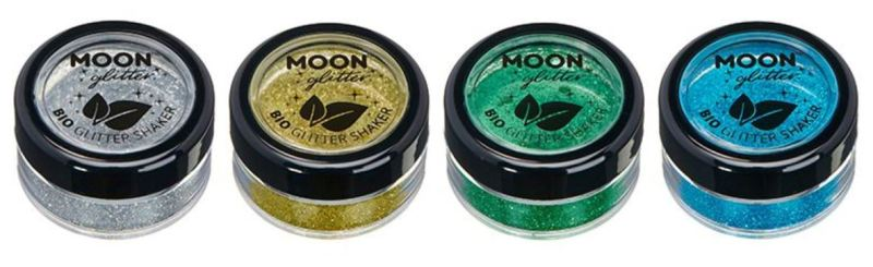 Moon Glitter Biodegradable Glitter Shakers