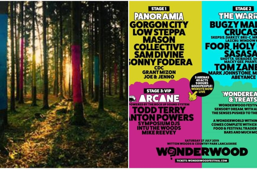 Stage splits, themes and food revealed for Wonderwood